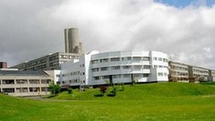 Ninewells Hospital in Dundee