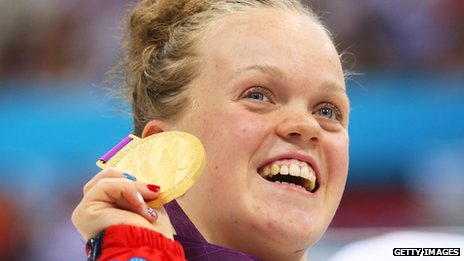 Swimmer Ellie Simmonds