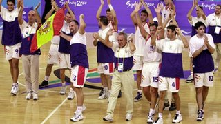 Spanish Paralympic Basketball Team
