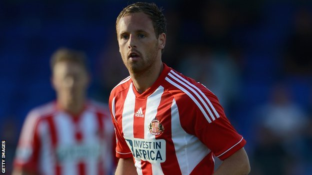 David Meyler has made three appearances for Sunderland this season