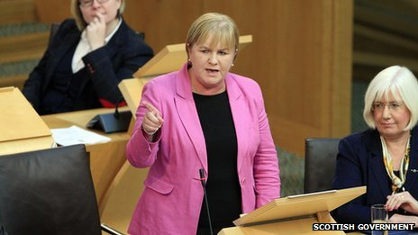 Labour's Johann Lamont suggested that Mr Salmond's heart was not truly in the project
