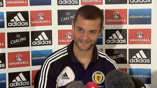 Scotland forward Shaun Maloney