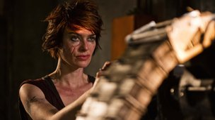 Lena Headey in Dredd