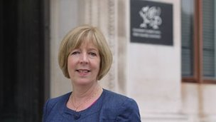 Dr Ruth Hussey, Chief Medical Officer for Wales