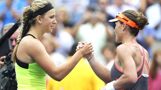 Victoria Azarenka and Sam Stosur