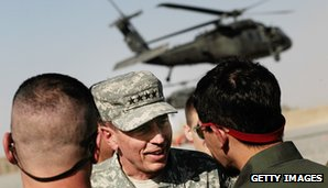 US General Petraeus in Kandahar (2010 picture)