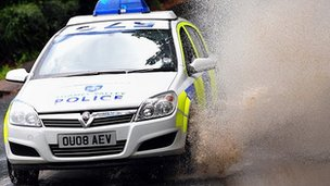 Thames Valley Police car