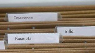 Domestic paperwork
