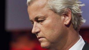 Freedom Party leader Geert Wilders