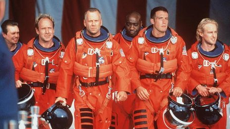 Still from Armageddon