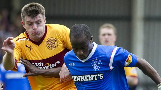 motherwell vs rangers - photo #15