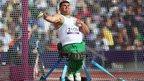 Ruzhdi Ruzhdi of Bulgaria competes in the Men's Discus