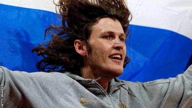 Ivan Ukhov wins Olympic gold at London 2012