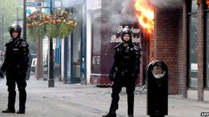 Manchester riots