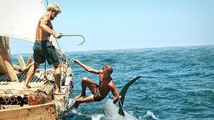 Scene from Kon-Tiki
