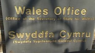Wales Office plaque
