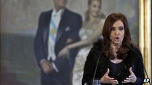 Argentina's president Cristina Fernandez has been accused of increasing state control over business