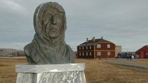 Amundsen statue