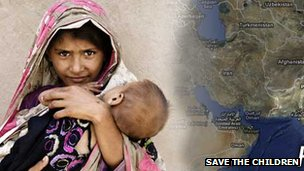 Save the Children Pakistan poster