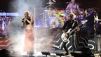 The band No Doubt perform on stage in New York