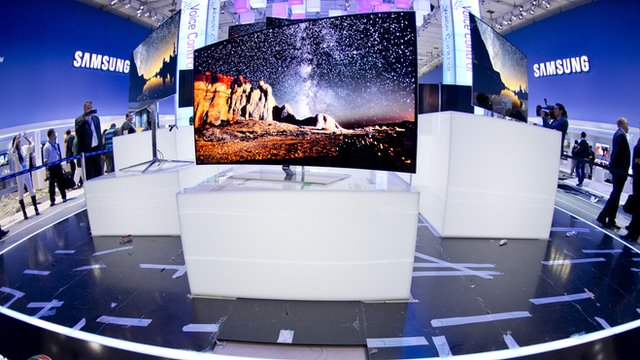 Oled TVs on display at IFA