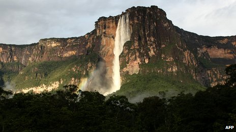 Angel Falls in Venezuela