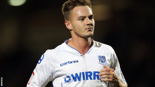 Tranmere Rovers winger Adam McGurk