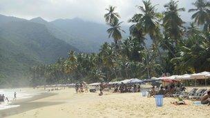 Venezuela's Playa Grande