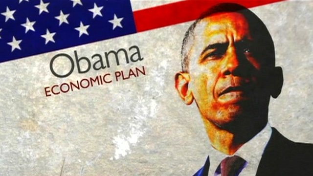 barack obamas economic plan Obama signs stimulus plan into law president barack obama signs the racing to reverse the country's economic spiral, president barack obama signed the mammoth.