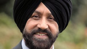 Jas Parmar, Conservative candidate