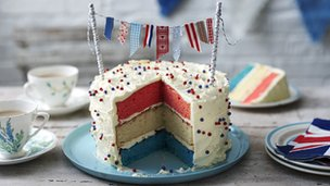 Bunting cake