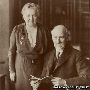 Geraldine and Barrow Cadbury