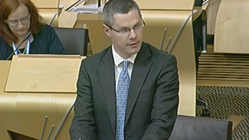 Local Government Minister Derek Mackay