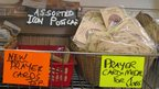 BBC Religion&Ethics - Blackpool, The Repository, prayer cards