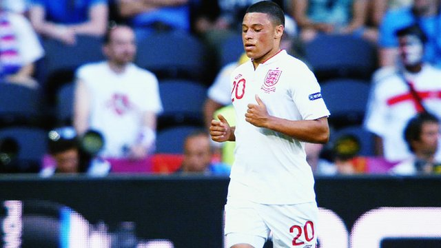 England&#039;s Alex Oxlade-Chamberlain