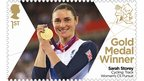 Sarah Storey Gold stamp