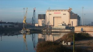 The Devonshire Dock Hall (DDH) in 2004