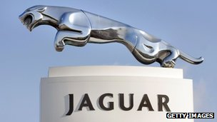 Leaping Jaguar sign