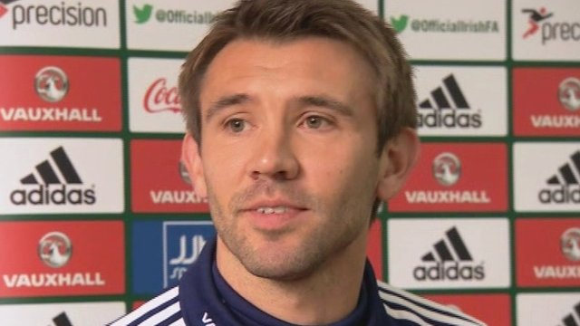 Northern Ireland defender Gareth McAuley