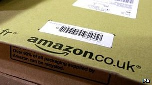 Amazon UK parcel