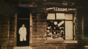 Tom Crook's original shop