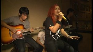 Indonesian indie band Tuffa