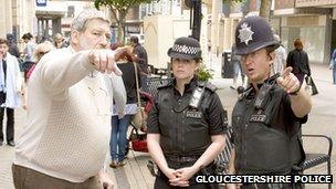 Gloucestershire police generic