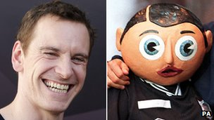 Michael Fassbender and Frank Sidebottom