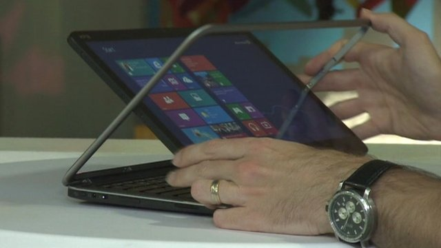 Dell adds a spin on the tablet idea