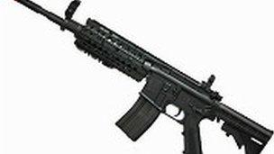 Airsoft gaming gun