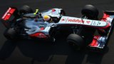 Lewis Hamilton at Monza 2012