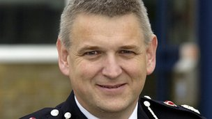 Chief Constable of Dorset Police, Martin Baker