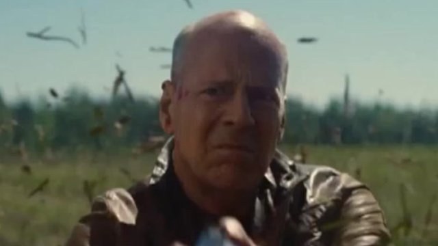 Bruce Willis in The Looper