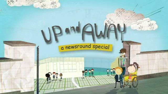 Up And Away title screen